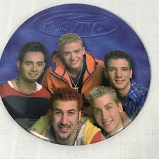 NSYNC Button Pinback Built in Stand 6 Inches