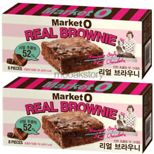 [Orion] Real Brownie Market O Chocolate Homemade Style Korean Snack 192 g × 2 ea