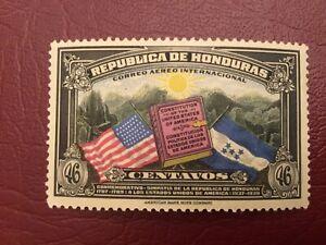 ICOLLECTZONE Honduras  C84 VF hinged Constitution of USA