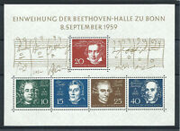 Allemagne - RFA Bloc N°1** (MNH) 1959 - Grands musiciens