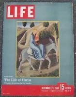 Life Magazine December 23 1946 Life of Christ China SS Del Norte Christmas