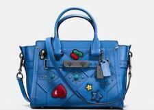 Sacs et sacs à main bleus Coach en cuir pour femme