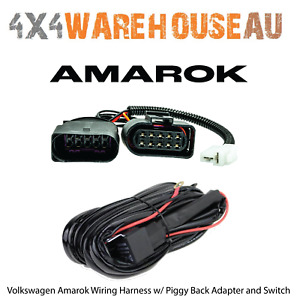 Volkswagen Amarok Plug & Play Driving Light / Lightbar Wiring Harness WHK-AMAROK