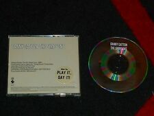 THE SIMPSONS THEME - Promo CD Single - DANNY GATTON - Danny Elfman  ELEKTRA 1990
