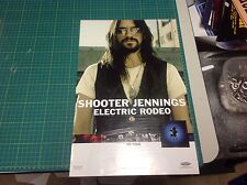 Shooter Jennings Promo Poster 17x11. album Cd vintage music A A1