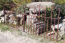 Wrought Iron Drive Gates Garden 241 cm Vintage - Yorkshire Dales Reclaim