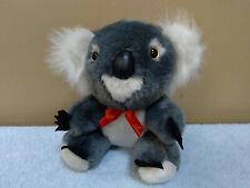 "8"" Koala Bear with Bow, Plush Toy, Doll, Stuffed Animal"