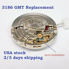 NEW ! Watch Movement To replace  3186 GMT II Pearlage Mechanical Automatic