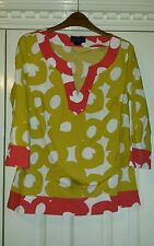 Women's Spotted 3/4 Sleeve Women's Tops & Shirts