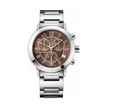 CK Uomo Calvin Klein Orologio Watch Man Uhr Continual K8727176 Marrone Crono New