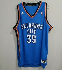 2012 Adidas OKC Oklahoma City Thunder Kevin Durant 35  Jersey Mens 2XL Sewn