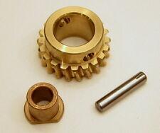(NEW) John Deere Snowblower Bronze Auger Gear, Pin, Bushing AM130756 1128D 924DE