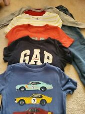 Boy Gap Clothes Lot Size Small (6-7) 5 shirts And 1 pair Jeans