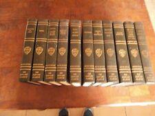 Lot of 11 The Harvard Classics Ve Ri Tas Registered Deluxe Edition books 1969