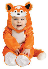 BOYS GIRLS KIDS TODDLER BABY FOX CUB FANCY DRESS UP COSTUME OUTFIT NEW 12-24 MTH