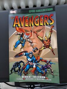 Avengers Epic Collection VOL. 4: Behold... The Vision TPB - MARVEL
