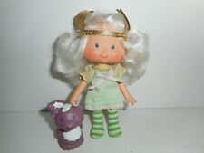 Vintage Strawberry Shortcake Angel Cake with Souffle Doll Figure 1979