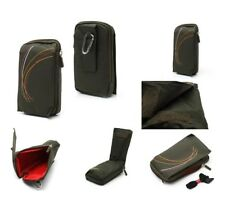 for BLACKBERRY CURVE 3G 9300 Green Pouch Bag 16x9cm Multi-functional Universal