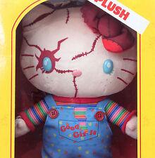 "Hello Kitty × Chucky Child's Play 2 Plush Doll 11"" Sanrio USJ JAPAN Limited"