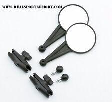 Double Take Mirror,Dual Mirrors, Dual Sport, ADV,Adventure w/Ram Ball, W/Ram arm