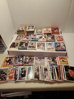 CARLTON FISK - Huge 600 +-card lot! 1987 Topps Fleer-Donruss WHITE SOX! HOF! BV