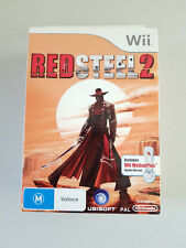 New & Sealed Nintendo Wii Red Steel 2 Game With Wii Motion Plus Complete