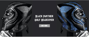 Black Panther Golf Headcover for Driver Upto 460cc
