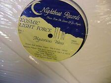 Kosmic Light Force Mysterious Waves vinyl 12 Inch 1985 Nightbeat Records EX