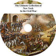 New York in the Civil War - History & Genealogy - 112 books on DVD