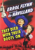 They Died With Their Boots On (DVD) Errol Flynn, Olivia de Havilland NEW