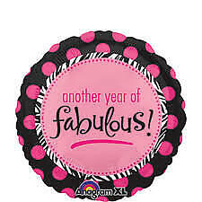 """Anagram Another Year Of Fabulous Singing Balloon """"It's Your Birthday"""""""