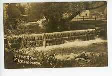 Judson's Mill Dam RPPC East Arlington VT Antique Photo ca. 1910s