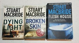Dying Light Broken Skin Flesh House by Stuart MacBride Logan McRae Series #2-4
