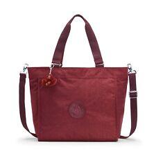 Kipling NEW SHOPPER L Large Shoulder Bag BURNT CARMINE C - FW18 RRP £79