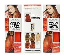 3 x L'OREAL 80mL COLORISTA WASHOUT HAIR COLOUR VIVID 2 WEEK #ORANGE HAIR