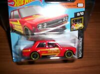 DATSUN 510 BERLINA 1971 - HOT WHEELS - SCALA 1/55