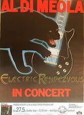 Al di meola 1982 Frankfurt ORIG. Concert Poster-concierto cartel 84 x 60 cm