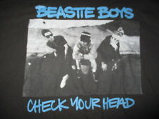 "Retro Beastie Boys ""Check Your Head"" (Lg) T-Shirt Black & Blue"
