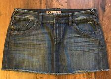 Express Jeans Skirt Womens Size 6