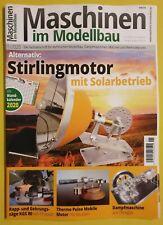Maschinen im Modellbau 1/2020 STIRLINGMOTOR mit Solarbetrieb  ungelesen, Zust.1A