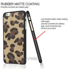 """Sexy Leopard Print Matte Phone Case Cover+Clear Screen Film for iPhone 6S 4.7"""""""