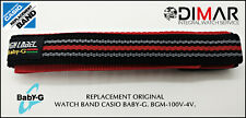 REPLACEMENT ORIGINAL  WATCH BAND CASIO BABY-G BGM-100V.4V.