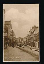 Dorset LYME REGIS Broad St 1935 RP PPC local pub Van H Allen
