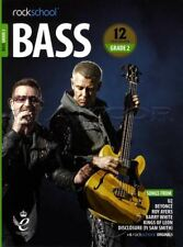 Rockschool Bass Guitar Grade 2 2018-2024 TAB Music Book/Audio Songs Exercises