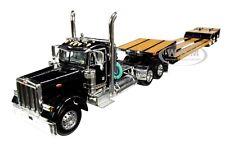 PETERBILT 379 W/FONTAINE RENEGADE LOWBOY BLACK 1/64 MODEL DCP/FIRST GEAR 60-0721
