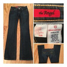 AG Adriano Goldschmied Womens 25 X 33 LONG  INSEAM The Angel Boot Cut Jeans USA