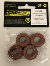 Mitoos M093D 4 x Toyo 27 Raid MUD Effect Tyres 27 x 10mm Hard 48 Shore