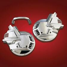 Honda 88-00 GL1500 Goldwing Show Chrome Front Tour Rotor Disc Covers 2-497