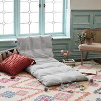 "OPALHOUSE Twin Gray Print Chaise Lounge Pillow | 76"" x 35"" | 🆕"