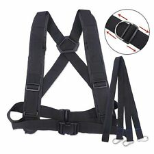 Fitness Adjustable Sled Harness Weight Vest Trainer With Pull Strap Resistance